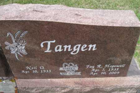 TANGEN, FAY R. - Barnes County, North Dakota | FAY R. TANGEN - North Dakota Gravestone Photos