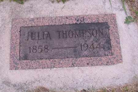 THOMPSON, JULIA - Barnes County, North Dakota | JULIA THOMPSON - North Dakota Gravestone Photos