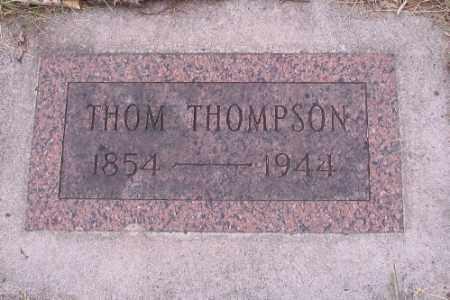 THOMPSON, THOM - Barnes County, North Dakota | THOM THOMPSON - North Dakota Gravestone Photos