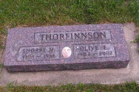THORFINNSON, SNORRI M. - Barnes County, North Dakota | SNORRI M. THORFINNSON - North Dakota Gravestone Photos