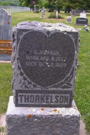 THORKELSON, GJERMUN - Barnes County, North Dakota | GJERMUN THORKELSON - North Dakota Gravestone Photos