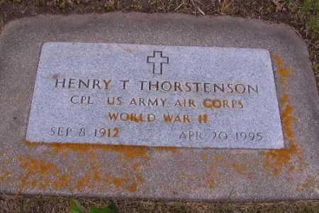 THORSTENSON, HENRY T. - Barnes County, North Dakota   HENRY T. THORSTENSON - North Dakota Gravestone Photos