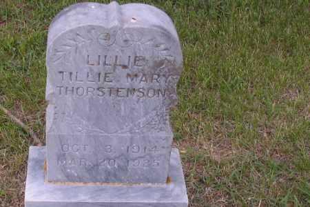 THORSTENSON, LILLIE, TILLIE MARY - Barnes County, North Dakota   LILLIE, TILLIE MARY THORSTENSON - North Dakota Gravestone Photos