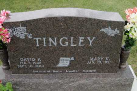 TINGLEY, DAVID P. - Barnes County, North Dakota | DAVID P. TINGLEY - North Dakota Gravestone Photos