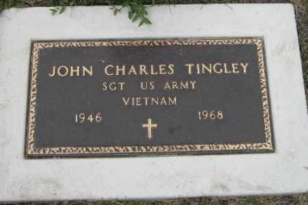 TINGLEY, JOHN CHARLES - Barnes County, North Dakota | JOHN CHARLES TINGLEY - North Dakota Gravestone Photos