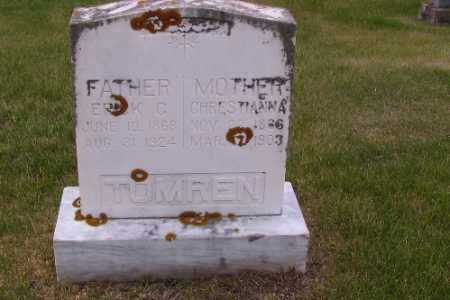 TUMREN, CHRISTIANA - Barnes County, North Dakota | CHRISTIANA TUMREN - North Dakota Gravestone Photos