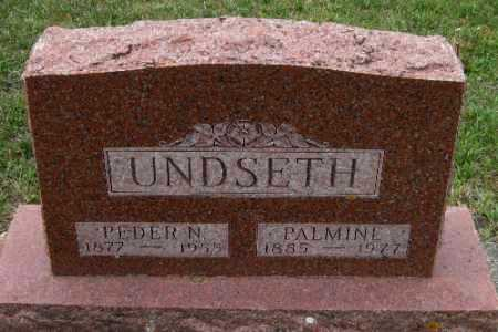 UNDSETH, PEDER N. - Barnes County, North Dakota | PEDER N. UNDSETH - North Dakota Gravestone Photos