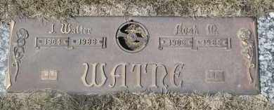 WATNE, J. WALTER - Barnes County, North Dakota | J. WALTER WATNE - North Dakota Gravestone Photos