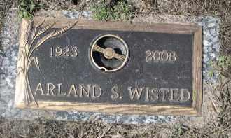 WISTED, ARLAND S. - Barnes County, North Dakota | ARLAND S. WISTED - North Dakota Gravestone Photos