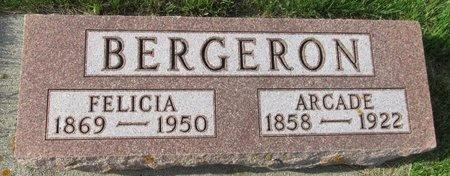 BERGERON, FELICIA - Bottineau County, North Dakota | FELICIA BERGERON - North Dakota Gravestone Photos