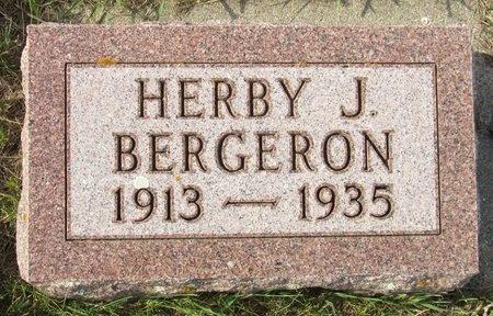BERGERON, HERBY J. - Bottineau County, North Dakota | HERBY J. BERGERON - North Dakota Gravestone Photos