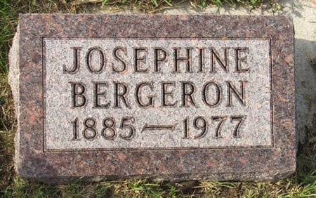 BERGERON, JOSEPHINE - Bottineau County, North Dakota | JOSEPHINE BERGERON - North Dakota Gravestone Photos