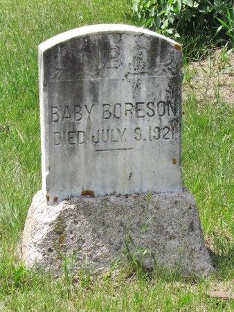 BORESON, BABY - Bottineau County, North Dakota | BABY BORESON - North Dakota Gravestone Photos