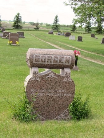BORGEN, FAMILY MARKER - Bottineau County, North Dakota | FAMILY MARKER BORGEN - North Dakota Gravestone Photos