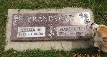 BRANDVOLD, ZELMA M. - Bottineau County, North Dakota   ZELMA M. BRANDVOLD - North Dakota Gravestone Photos