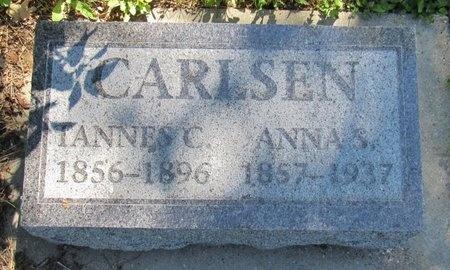 CARLSEN, TANNES C. - Bottineau County, North Dakota | TANNES C. CARLSEN - North Dakota Gravestone Photos