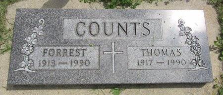 COUNTS, THOMAS - Bottineau County, North Dakota | THOMAS COUNTS - North Dakota Gravestone Photos
