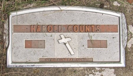 COUNTS, HAROLD - Bottineau County, North Dakota | HAROLD COUNTS - North Dakota Gravestone Photos