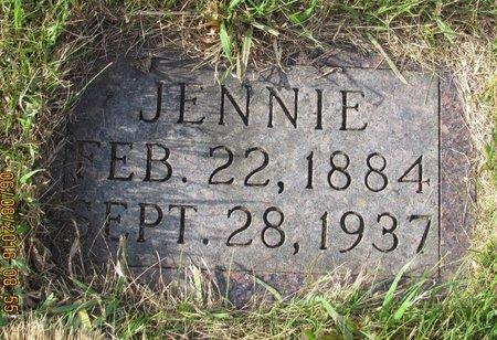 CUSHING, JENNIE - Bottineau County, North Dakota   JENNIE CUSHING - North Dakota Gravestone Photos