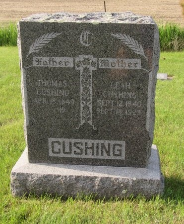 CUSHING, LEAH - Bottineau County, North Dakota | LEAH CUSHING - North Dakota Gravestone Photos