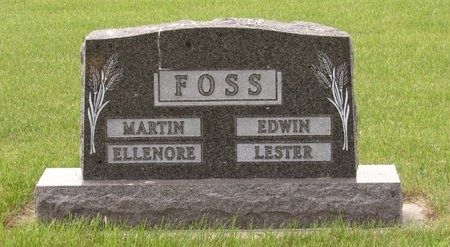 FOSS, FAMILY MARKER - Bottineau County, North Dakota | FAMILY MARKER FOSS - North Dakota Gravestone Photos