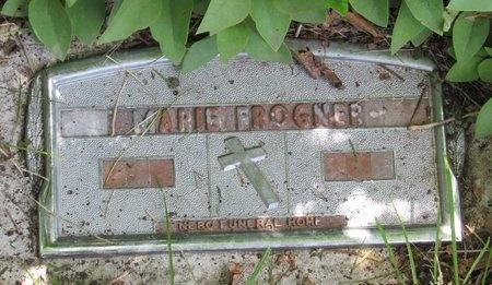 FROGNER, MARIE - Bottineau County, North Dakota   MARIE FROGNER - North Dakota Gravestone Photos