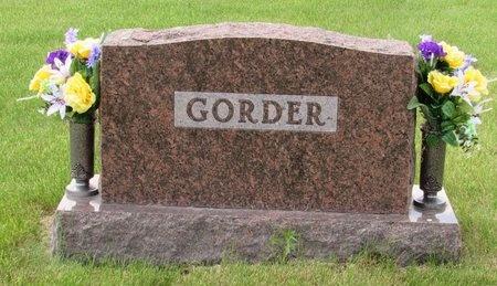 GORDER, FAMILY MARKER - Bottineau County, North Dakota | FAMILY MARKER GORDER - North Dakota Gravestone Photos