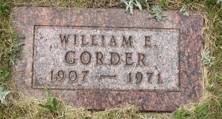 GORDER, WILLIAM E. - Bottineau County, North Dakota | WILLIAM E. GORDER - North Dakota Gravestone Photos