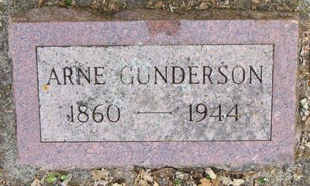GUNDERSON, ARNE - Bottineau County, North Dakota | ARNE GUNDERSON - North Dakota Gravestone Photos