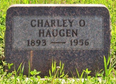 HAUGEN, CHARLEY O. - Bottineau County, North Dakota | CHARLEY O. HAUGEN - North Dakota Gravestone Photos