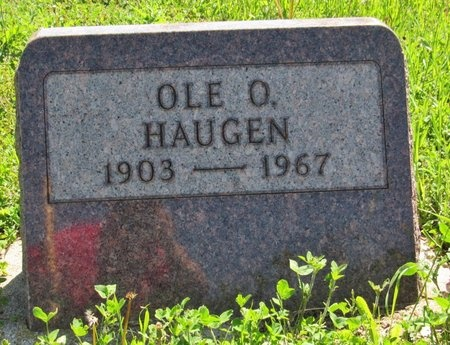 HAUGEN, OLE O. - Bottineau County, North Dakota | OLE O. HAUGEN - North Dakota Gravestone Photos