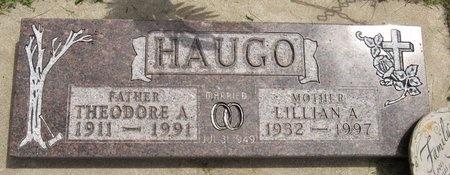 HAUGO, THEODORE A. - Bottineau County, North Dakota | THEODORE A. HAUGO - North Dakota Gravestone Photos