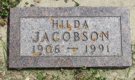 JACOBSON, HILDA - Bottineau County, North Dakota   HILDA JACOBSON - North Dakota Gravestone Photos
