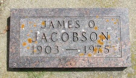 JACOBSON, JAMES O. - Bottineau County, North Dakota   JAMES O. JACOBSON - North Dakota Gravestone Photos