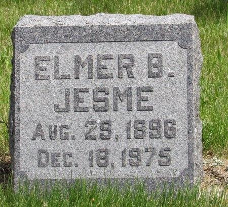 JESME, ELMER B. - Bottineau County, North Dakota | ELMER B. JESME - North Dakota Gravestone Photos