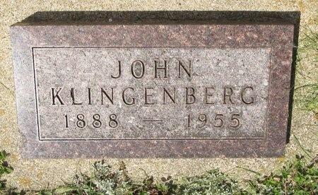 KLINGENBERG, JOHN - Bottineau County, North Dakota | JOHN KLINGENBERG - North Dakota Gravestone Photos
