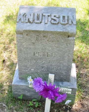 KNUTSON, PETER - Bottineau County, North Dakota | PETER KNUTSON - North Dakota Gravestone Photos