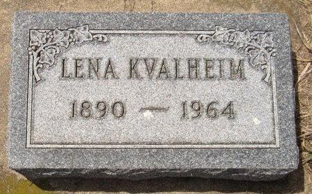 KVALHEIM, LENA - Bottineau County, North Dakota   LENA KVALHEIM - North Dakota Gravestone Photos
