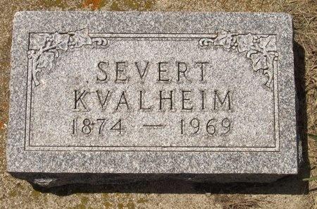 KVALHEIM, SEVERT - Bottineau County, North Dakota | SEVERT KVALHEIM - North Dakota Gravestone Photos