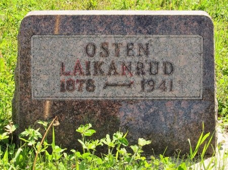 LAIKANRUD, OSTEN - Bottineau County, North Dakota | OSTEN LAIKANRUD - North Dakota Gravestone Photos