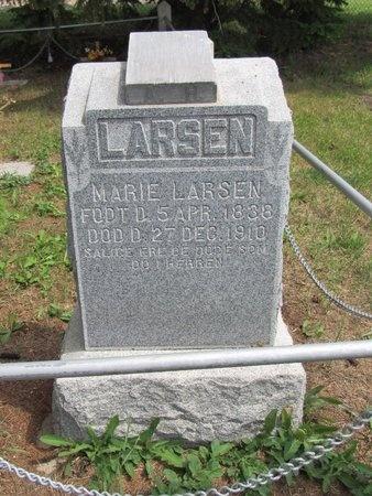 LARSEN, MARIE - Bottineau County, North Dakota   MARIE LARSEN - North Dakota Gravestone Photos