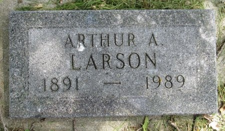 LARSON, ARTHUR A. - Bottineau County, North Dakota | ARTHUR A. LARSON - North Dakota Gravestone Photos