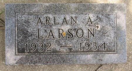 LARSON, ARLAN A. - Bottineau County, North Dakota | ARLAN A. LARSON - North Dakota Gravestone Photos