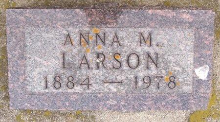 LARSON, ANNA M. - Bottineau County, North Dakota   ANNA M. LARSON - North Dakota Gravestone Photos
