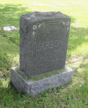 LARSON, FAMILY MARKER - Bottineau County, North Dakota   FAMILY MARKER LARSON - North Dakota Gravestone Photos