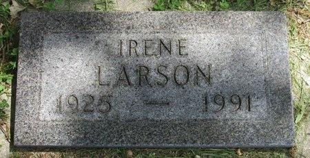 LARSON, IRENE - Bottineau County, North Dakota | IRENE LARSON - North Dakota Gravestone Photos