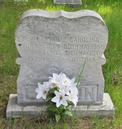 LARSON, CAROLINA - Bottineau County, North Dakota | CAROLINA LARSON - North Dakota Gravestone Photos