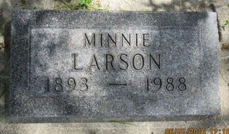 LARSON, MINNIE - Bottineau County, North Dakota | MINNIE LARSON - North Dakota Gravestone Photos