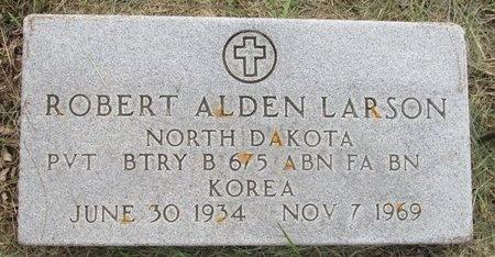 LARSON, ROBERT ALDEN - Bottineau County, North Dakota | ROBERT ALDEN LARSON - North Dakota Gravestone Photos