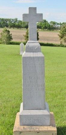 LESCAULT, JEREMIAH - Bottineau County, North Dakota   JEREMIAH LESCAULT - North Dakota Gravestone Photos